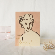 Wanderlust Paper Co. 'You Are Divine' Card